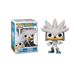 Funko Pop Sonic The Hedgehog Silver – 633