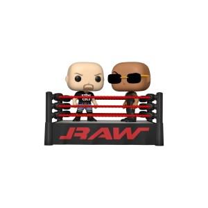 Funko Pop Catch WWE The Rock vs Stone Cold – Movie moment