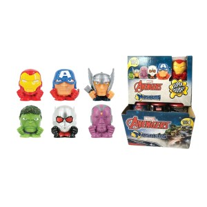 Figurine mini Marvel Avengers Super Squishy surprise
