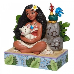 Figurine Disney Vaiana Welcome to Motunui Traditions