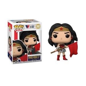 Funko Pop Wonder Woman Red Son DC COMICS 80th – 392