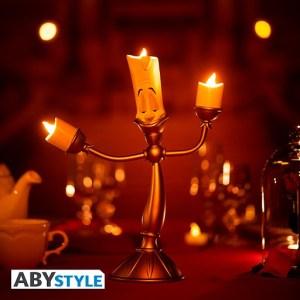 Lampe Disney La belle et La bête Lumiere