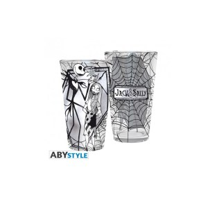 Verre XXL Disney Jack Skellington & Sally 400ml