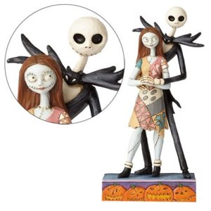 Figurine Disney Jack et Sally romance Traditions
