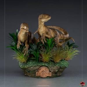 Figurine Raptors Jurassic Park Iron studios