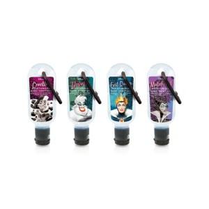 Gel hydroalcoolioque mains parfumé Disney Villains 30ml