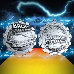 Médaille Retour vers le futur StopWatch Medallion