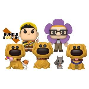Funko pop Disney Pixar Dug Days – Bundle de 5 pop