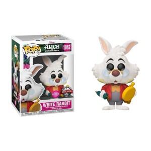Funko Pop & Tee Disney Alice au pays des merveilles White Rabbit – 1062