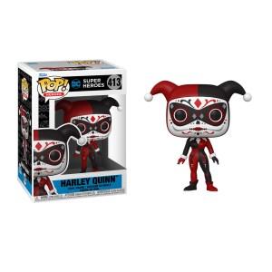 Funko Pop Dia de Los DC Harley Quinn – 413