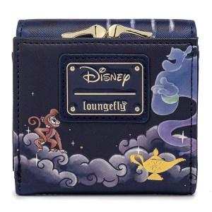 Portefeuille Loungefly Disney Jasmine Castle Kisslock