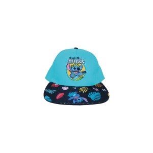 Casquette snapback Disney Stitch Here for the music
