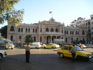 Damascus-Hejaz Station - open only from 1913 to 1917 (from Wikipedia)