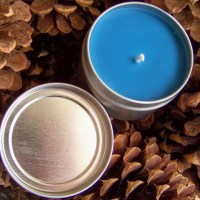 Soy Candle Tin Tutorial - Blueberry Cobbler
