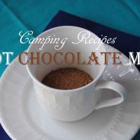 Camping Recipes - Homemade Hot Chocolate Mix Using Real Ingredients