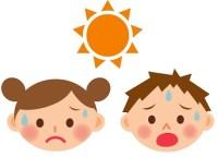 熱中症で子供や乳児の症状と対策 予防と水分補給の注意点は!