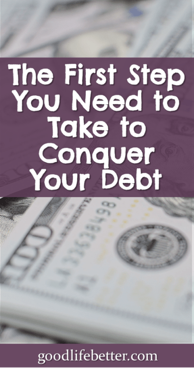 Getting out of debt is hard but not impossilbe. Committing to do whatever it takes is essential! #DebtPayoff #ChangingHabits #GoodLifeBetter