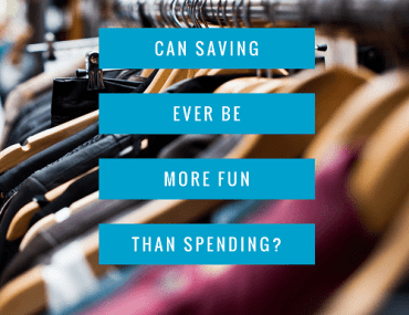 A spender can become a saver!