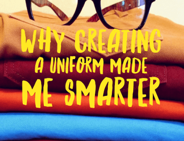 Why creating a work uniform made me smarter