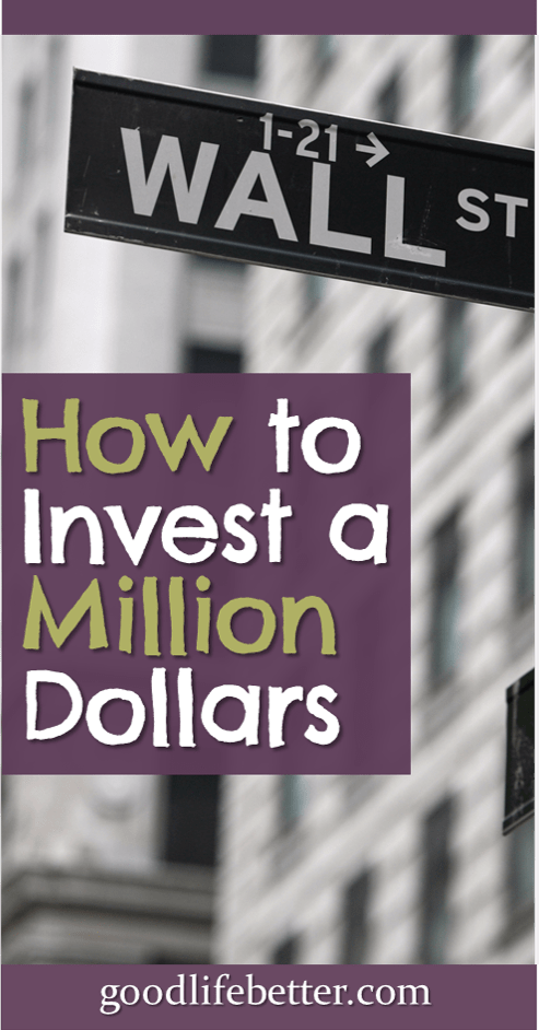 How would you invest a million dollars?  I would buy a mix of low-cost index funds with most of it.  Do you agree?