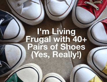 Great article about how one blogger is living frugal without hunting for bargains!