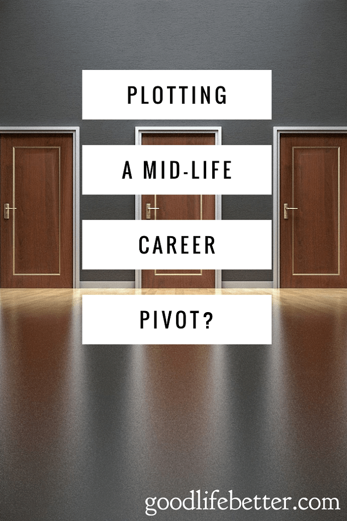 Are you thinking about a career pivot? Here is some great advice for someone who want a career refresh instead of a career overhaul.