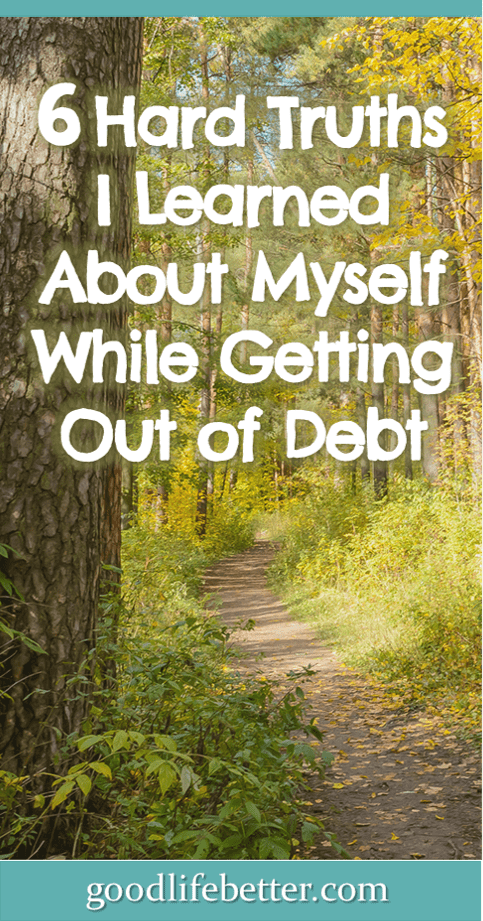 When you cut out your spending, you have a lot more time for self-reflection. Read about six lessons I learned while getting out of debt.