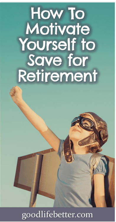 Sometimes it can be hard to keep motivated to save for retirement, especially when emergencies occur. Here are suggestions that helped me! #RetirementPlanning #SavingTips #GoodLifeBetter