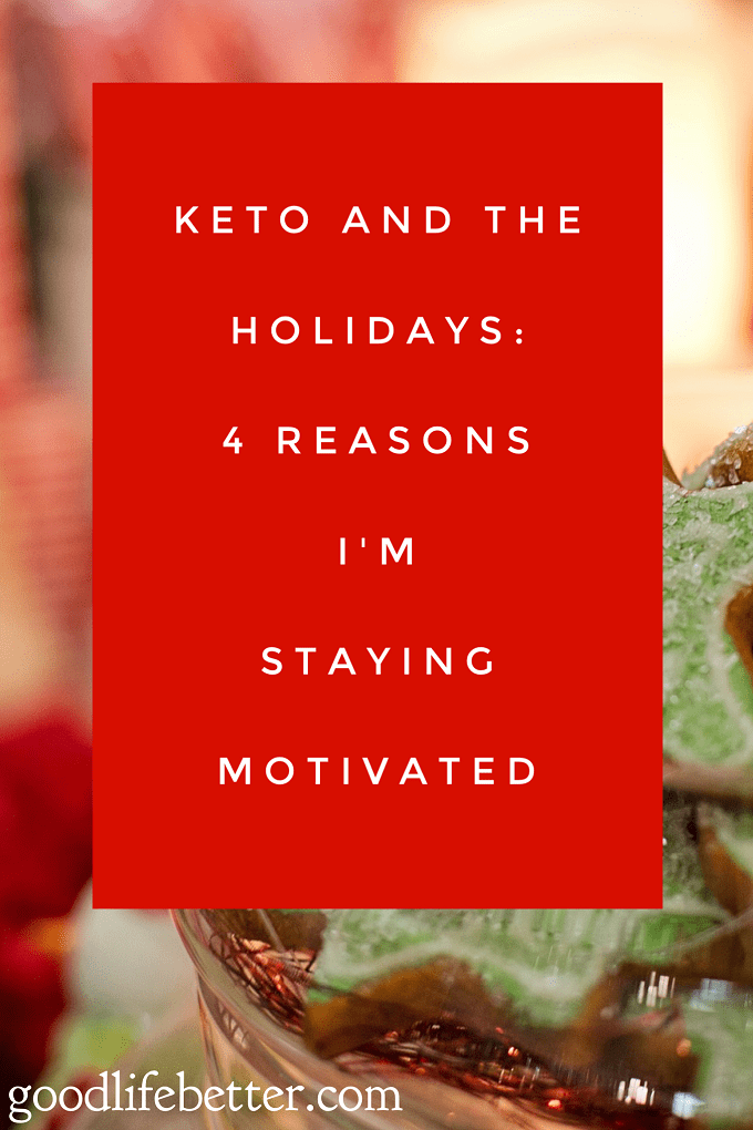 It can be hard to stick to a low carb diet like Keto. I loved these tips for staying motivated during the holidays!
