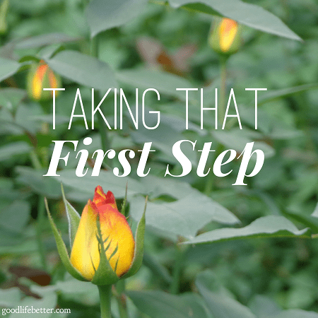 Read my story of changing my life for the better by taking that first step!