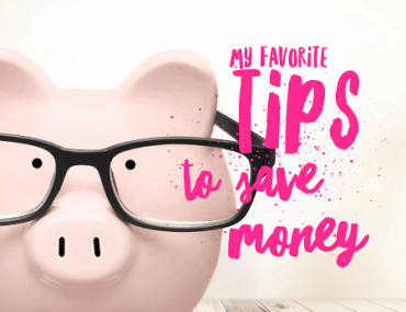 Want to increase your savings rate? Read my favorite tips for saving money!