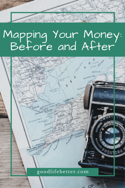 Creating a money map can help you visulize your money in a new way.
