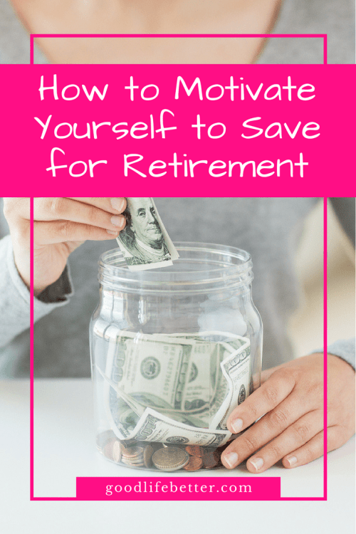I found that calculating my retirement goal was motivating--it helps me track my progress and make any needed adjustments in my spending!