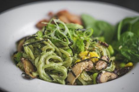 Creamy Spinach Ramen