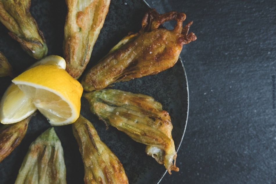 Deep Fried Squash Blossoms