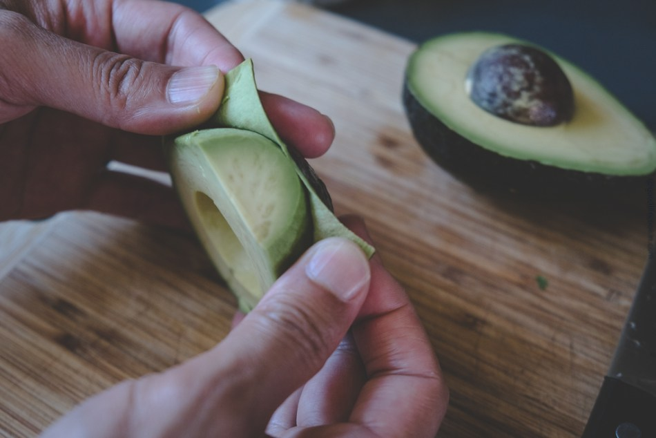 Avocado skin peel