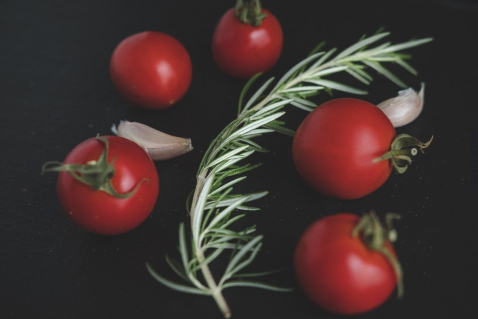 Tomato and rosemary