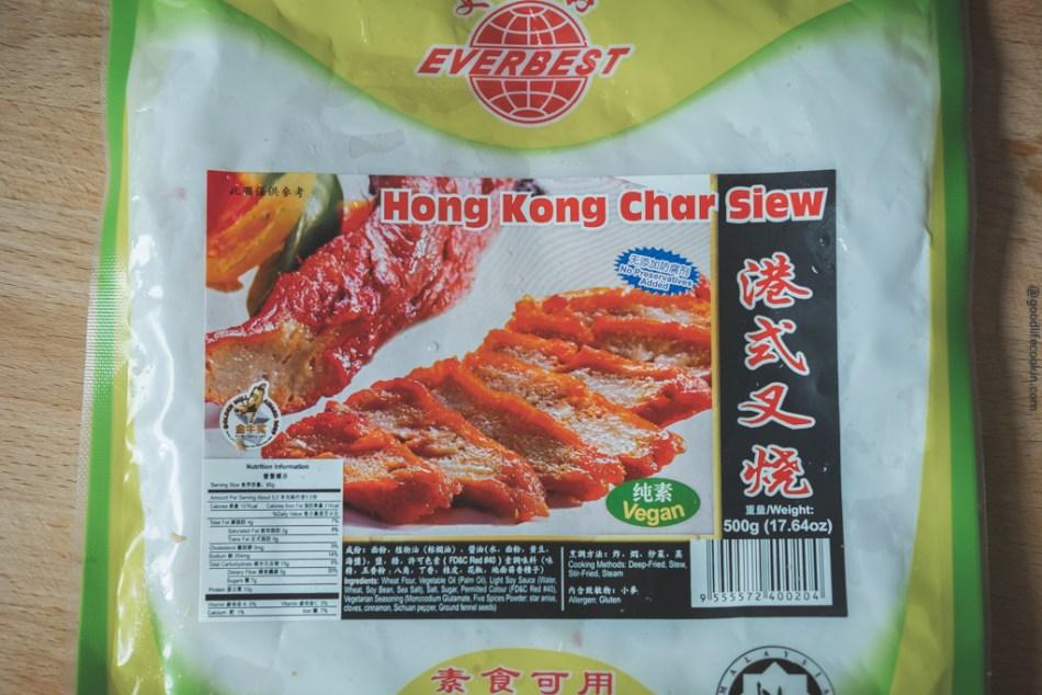 Vegan Char Siew
