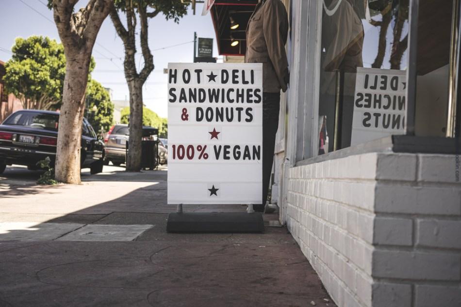 Vegan Store Sign