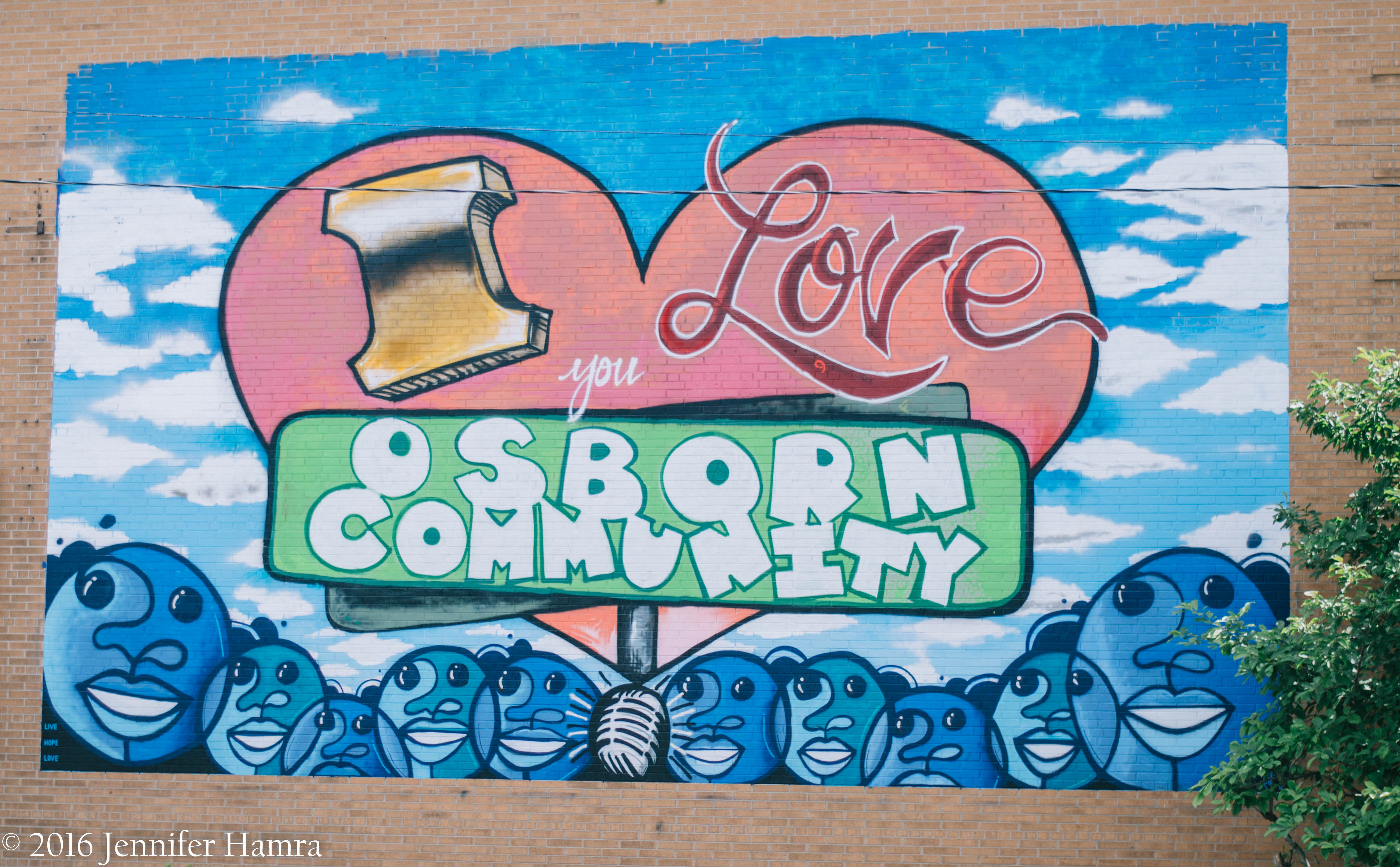 Detroit's Osborn Neighborhood Unveils New Mural