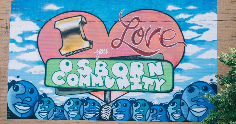 Detroit's Osborn Neighborhood Unveils New Mural