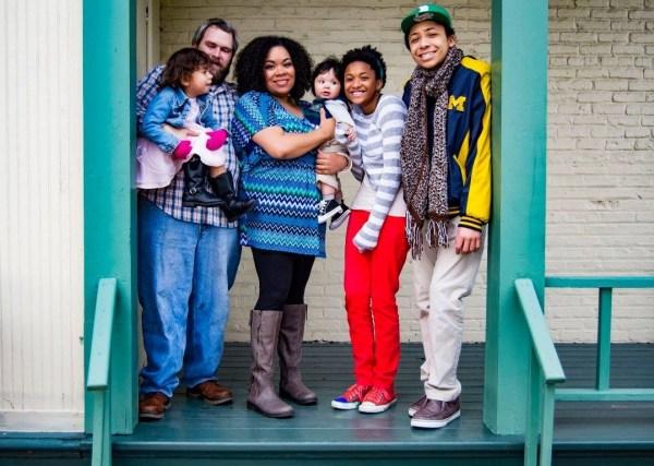Good Life Detroit Family Photo