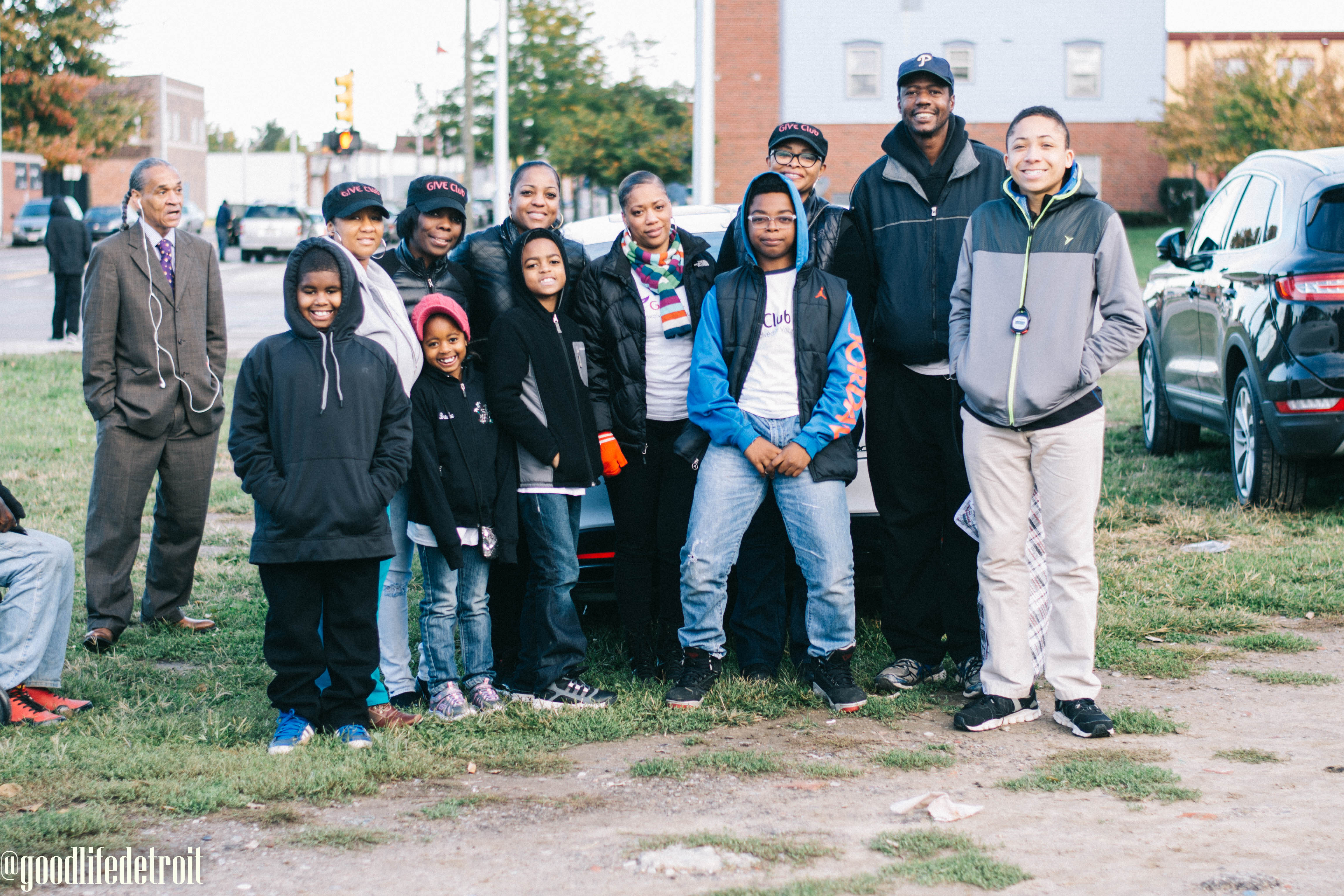 GIVE Club Makes a Difference in Detroit