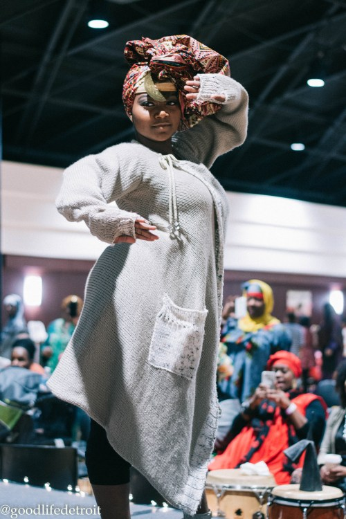 Head Wrap Fashion Show