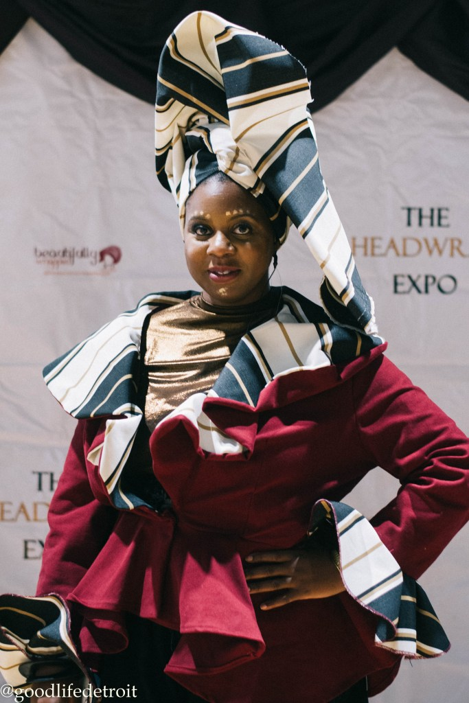 Zarinah El-Amin Naeem is the founder of Beautifully Wrapped Headwrap Expo. She teaches many different headwrap styles for women!