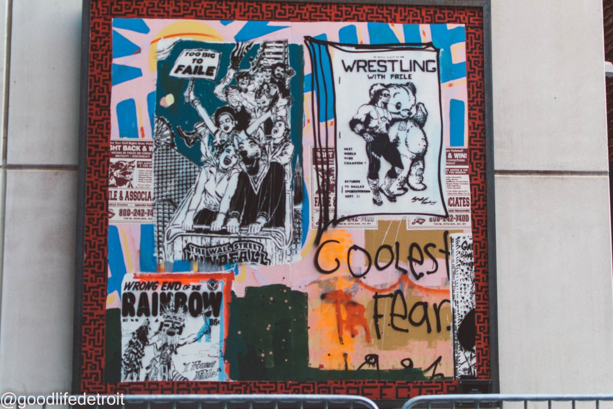'FAILE: Size of the Fight' Art Exhibit Opening in Detroit