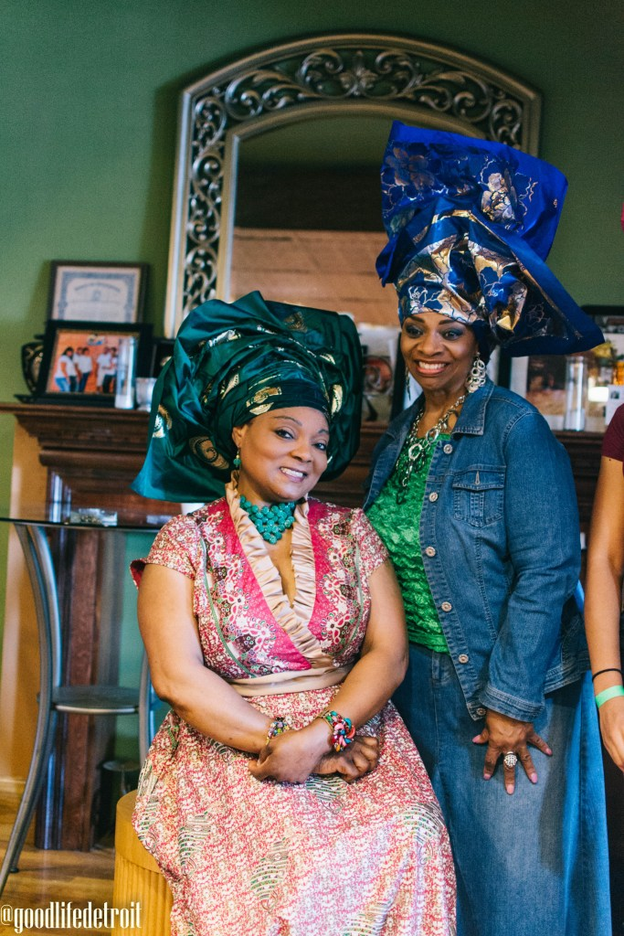 I learned more about headwrap ideas and how to use African fabric to create beautiful headwrap styles!