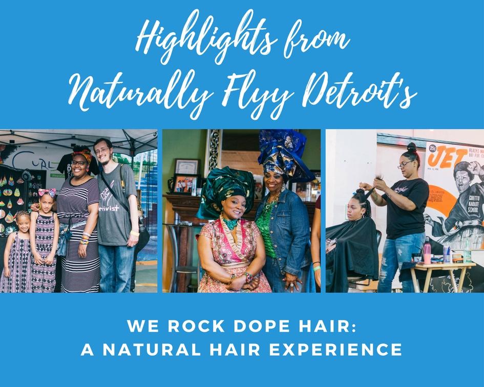 Naturally Flyy Detroit Hosts Annual Natural Hair Meetup