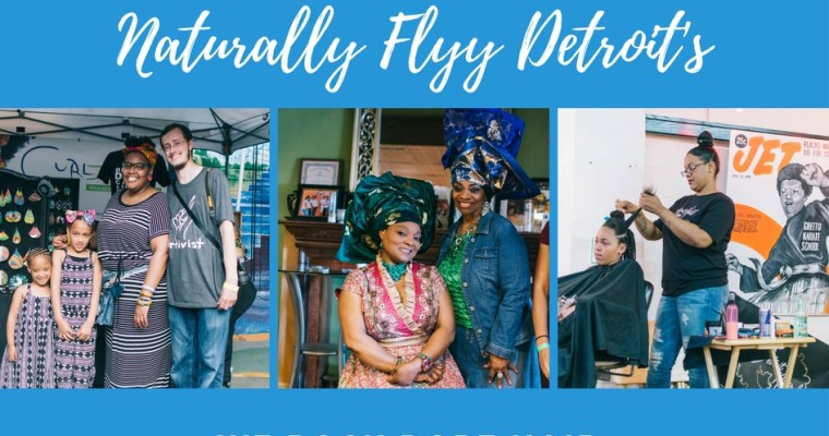 Naturally Flyy Detroit Hosts Annual Natural Hair Meetup