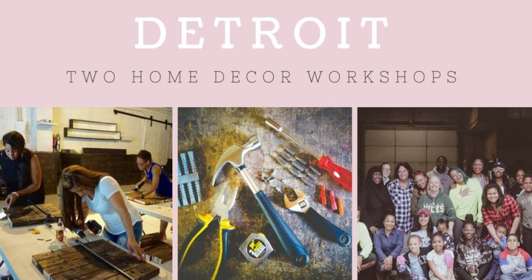 DIYFLY DETROIT Offers Two DIY Workshops July 29 & 30